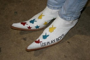 Mexican pointy shoes